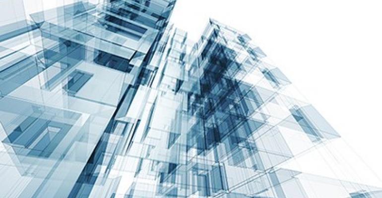 abstract building graphics