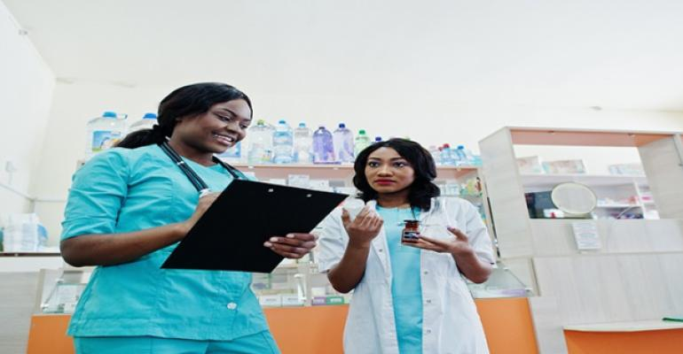 african nurses and doctor