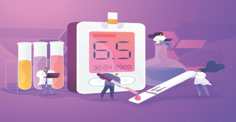diabetes check graphics